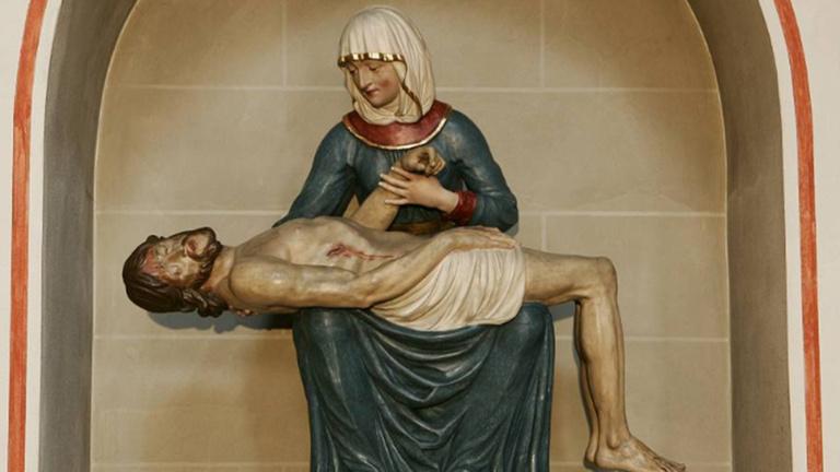 Restaurierung der Pieta