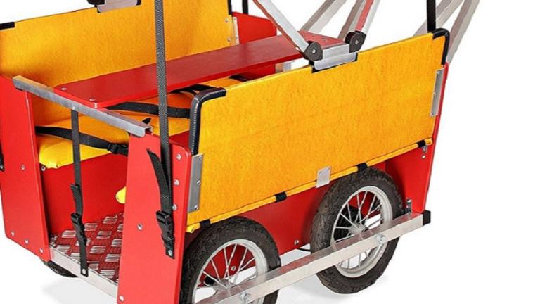 Ausflugswagen für Krippenkinder