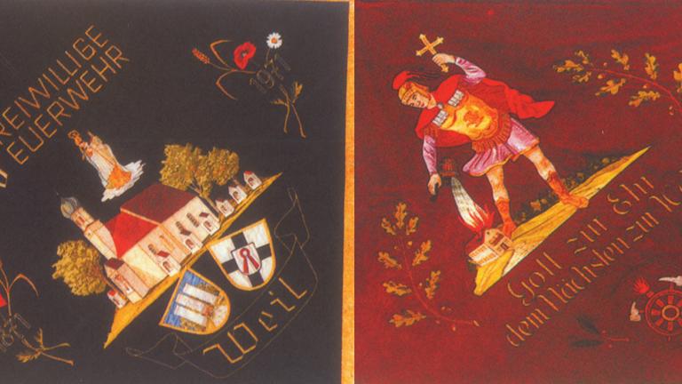 Restaurierung der Vereinsfahne