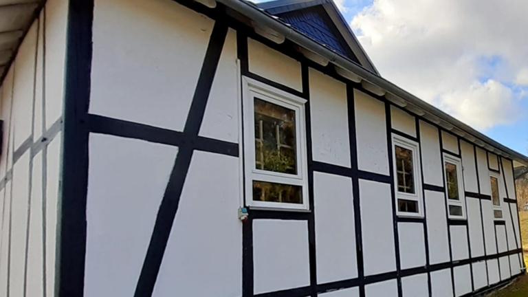 Fachwerkrestaurierung Schützenhalle Elkeringhausen