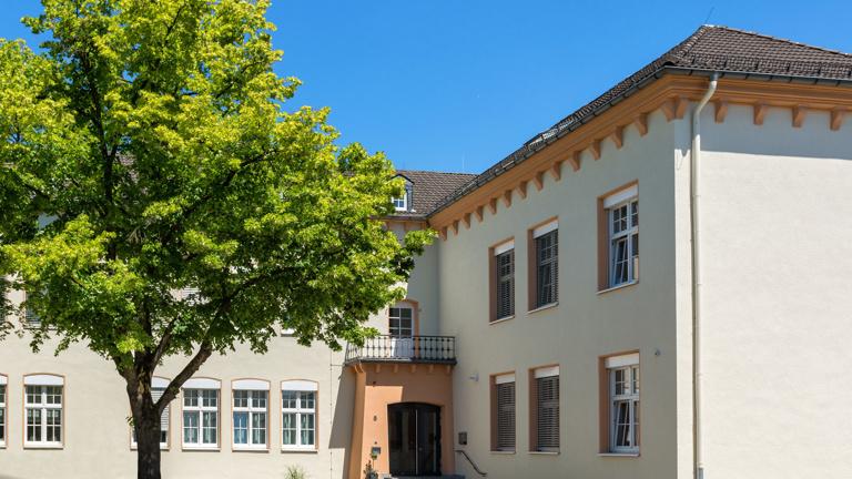 Hospiz St. Klara-Kleine Terrasse für unsere Gäste