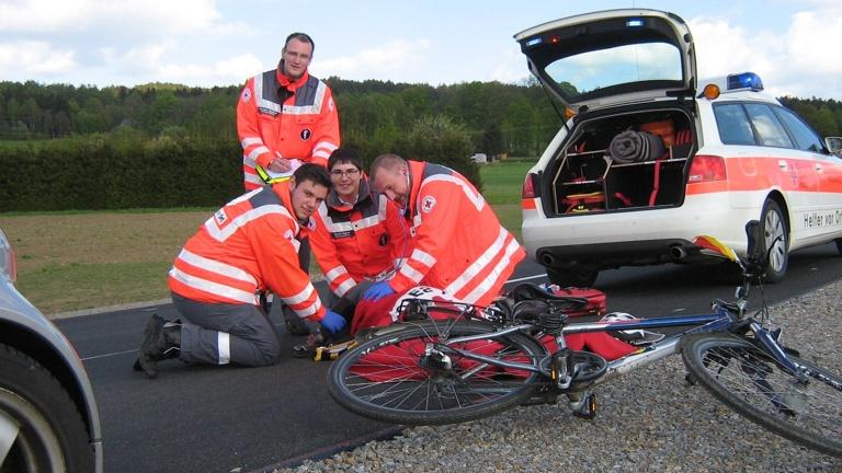 Fahrzeug Helfer Vor Ort Bärnau