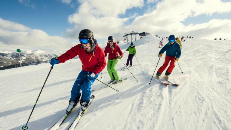Kinderheim: Skikurs Winterferien