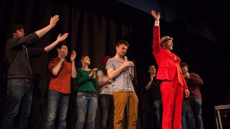 Aufrechterhaltung des Poetry Slam Betriebs