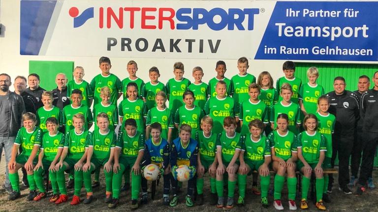 Mit 4 Jugendteams zum Fußballturnier in Belgien