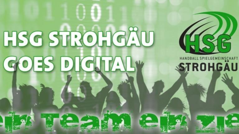 HSG STROHGÄU goes Digital