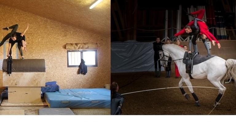 Galoppierendes Holzpferd Dolly Jumper