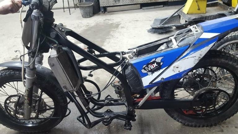 Neues Motoball Motorrad dringend benötigt