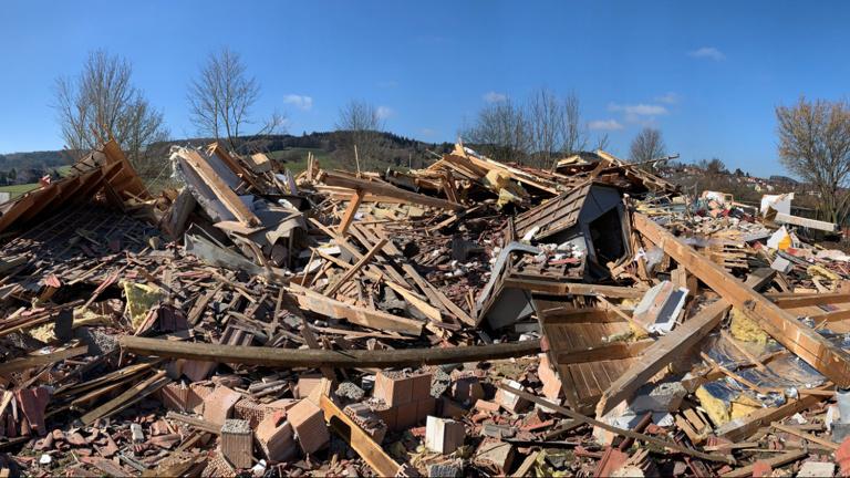 Gasexplosion Vereinsheim TSV Oberbeuren