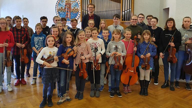 Reise zum Filmorchester Babelsberg