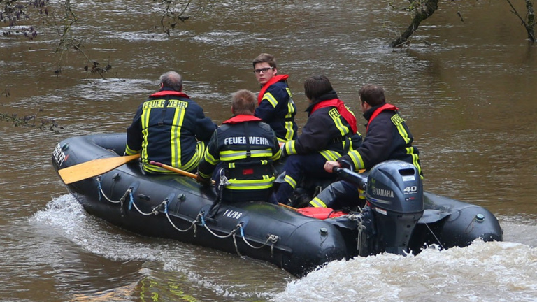 Rettungsboot für die Feuerwehr  Blieskastel-Webenheim
