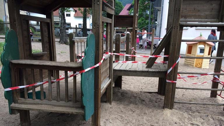 PROJEKT 2017: Sand Matschanlage für Weltentdecker