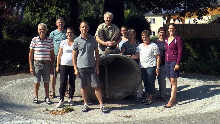Sanierung des Thüler Glockenbrunnens
