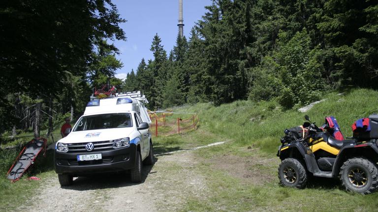 Beschaffung eines ATV für die Bergwacht Bayreuth