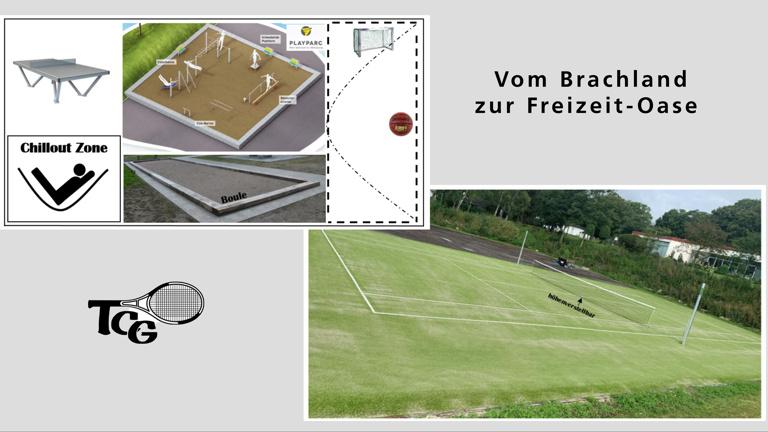 Vom Brachland zur öffentlichen Freizeit- und Sport- Oase