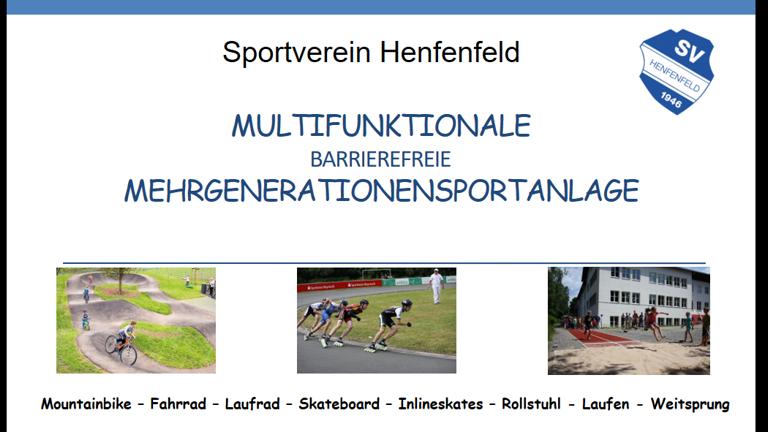 Multifunktionale Mehrgenerationensportanlage