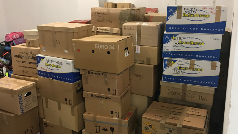 Hilfsgütertransport nach Osteuropa