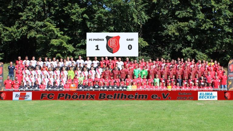Gemeinsam  ins 100 jährige Bestehen - FC Phönix Bellheim