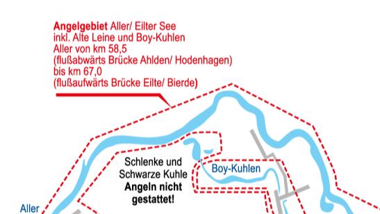 Fischbesatz im Aller-Leine-Tal