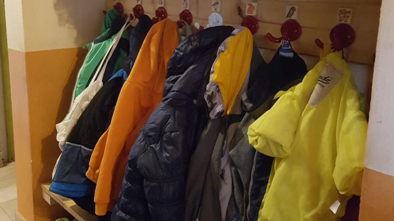 Erweiterung und Einrichtung einer Garderobe