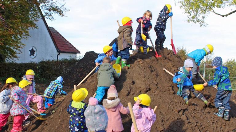 Einzug in die neue Kindertagesstätte