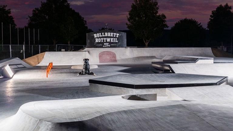 Flutlicht Skatepark Rottweil