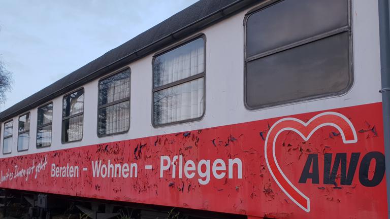 Bahnwagen für Jugendarbeit