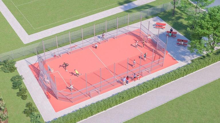 mehr Sport für Alle - Schaffung einer Multisportanlage