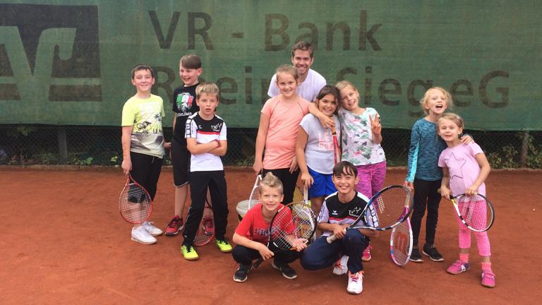 Trikots für die Tennisjugend des TSC Troisdorf e.V.