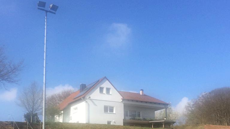 Flutlichtanlage SV Großseelheim