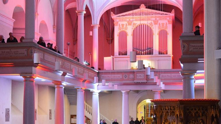 Reparatur der Orgel in der Sieglarer Kirche