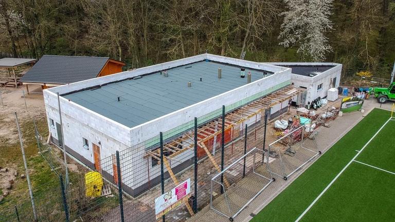 Solaranlage Waldstadion Glessen