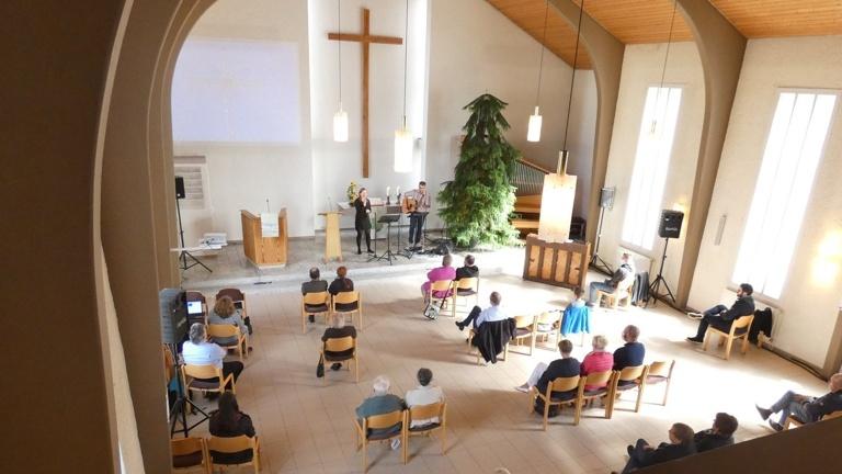 Moderne Technik Friedenskirche