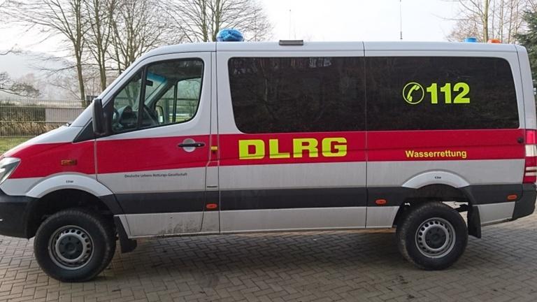 Neues Einsatzfahrzeug DLRG Burgsteinfurt