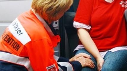 Defibrillator für das Kriseninterventionsteam