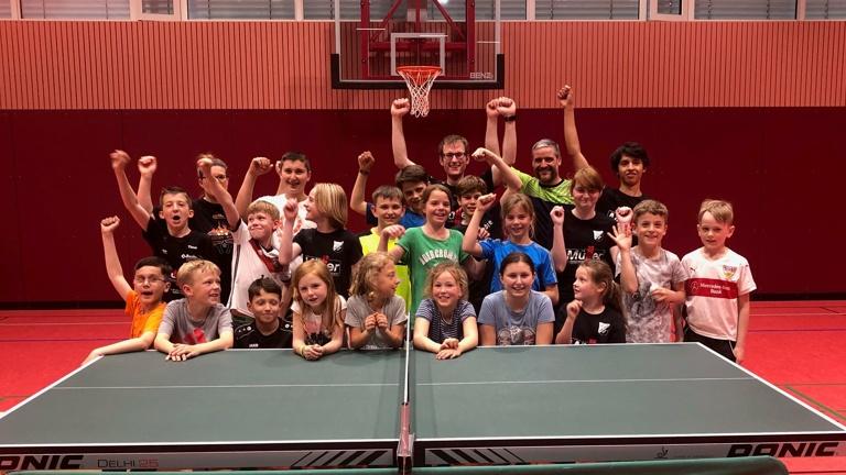Mannschaftstrikots Tischtennis Amtzell