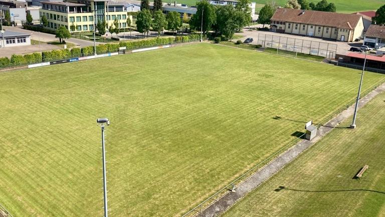 Rasenmähtraktor für den TSV Merklingen