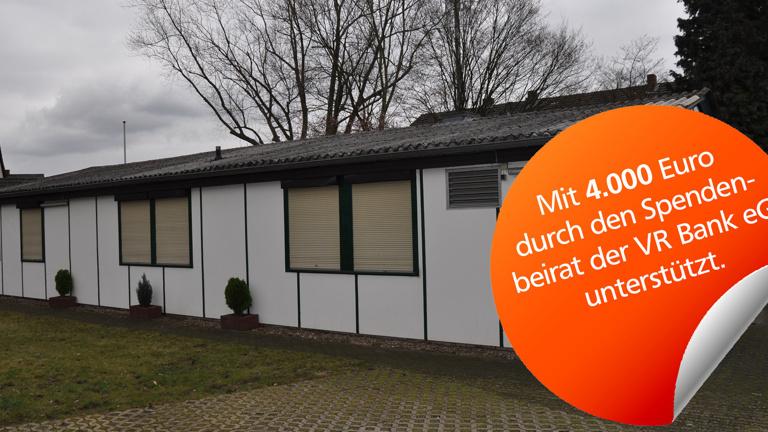 """Sanierung der sanitären Anlagen im Vereinsheim """"Ah"""