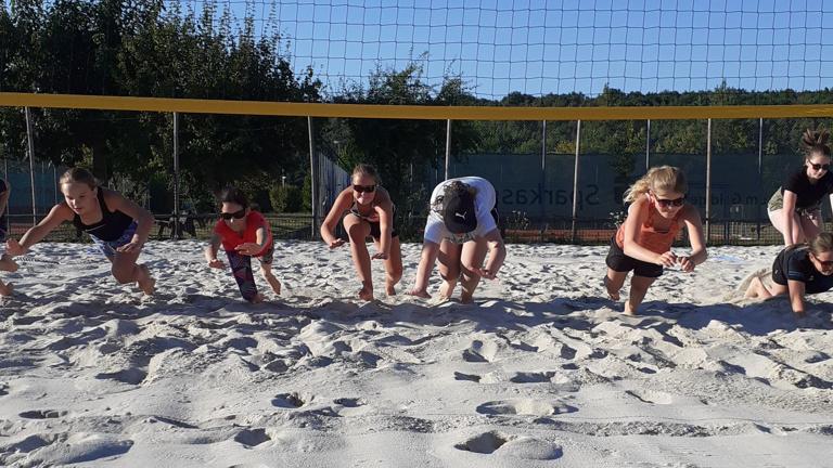 Bau von zwei neuen Beachfeldern