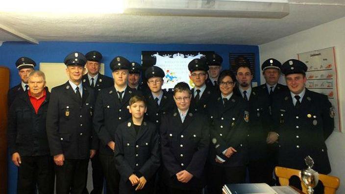 Jugend-Schutzbekleidung für Feuerwehrjugend Marxgrün