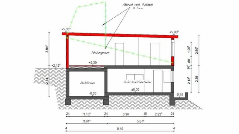 Wache 2.0 - Sanierung der DLRG Station an der Aggertalsperre