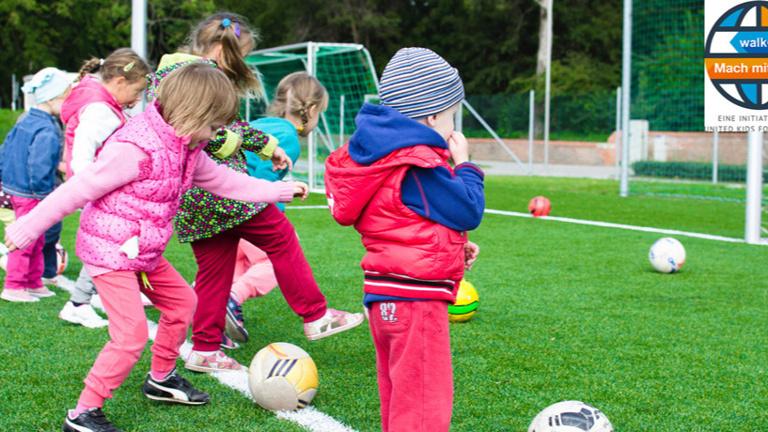 Sport für sozial benachteiligte Kinder