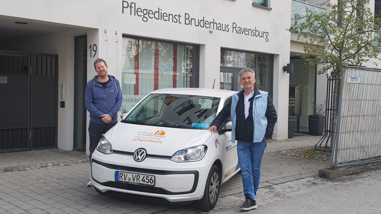 Fahrzeug für Pflegedienst der Stiftung Bruderhaus