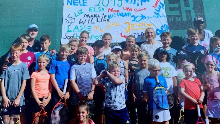 Ballmaschine für den Tennisverein RW Vreden