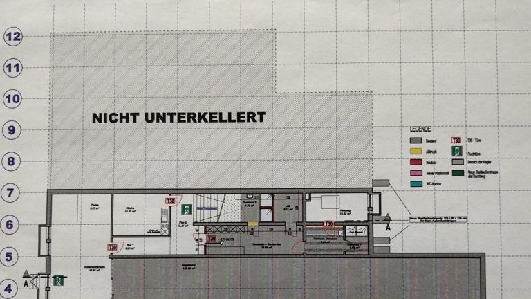 Renovierung Kegelbahn / Umbau Räumlichkeiten