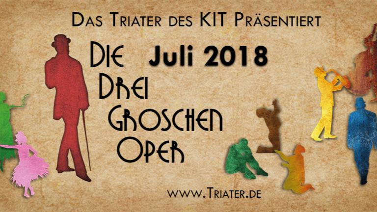 Triater des KIT - Die Dreigroschenoper