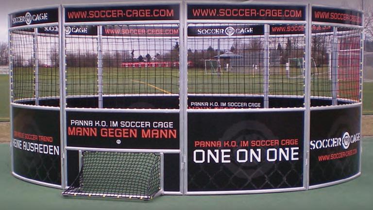 Soccer-Cage für den TuS Holzhausen