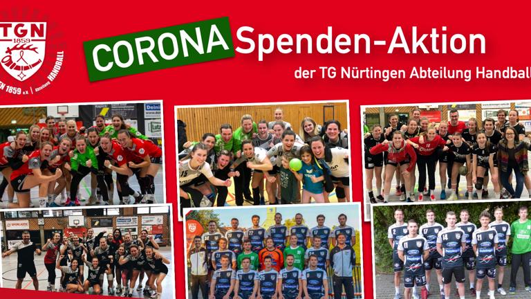 CORONA Spenden-Aktion | TG Nürtingen Handball