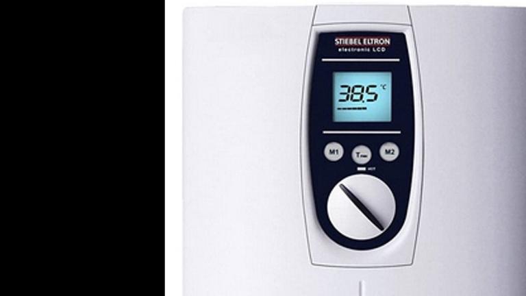 Energiesparender Durchlauferhitzer für 2 Duschen