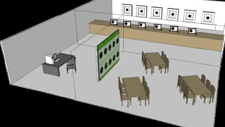 Elektronische Schießstände